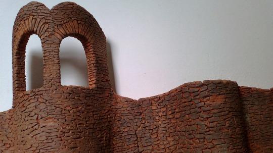 La Mosquera, torre de arcilla horneada