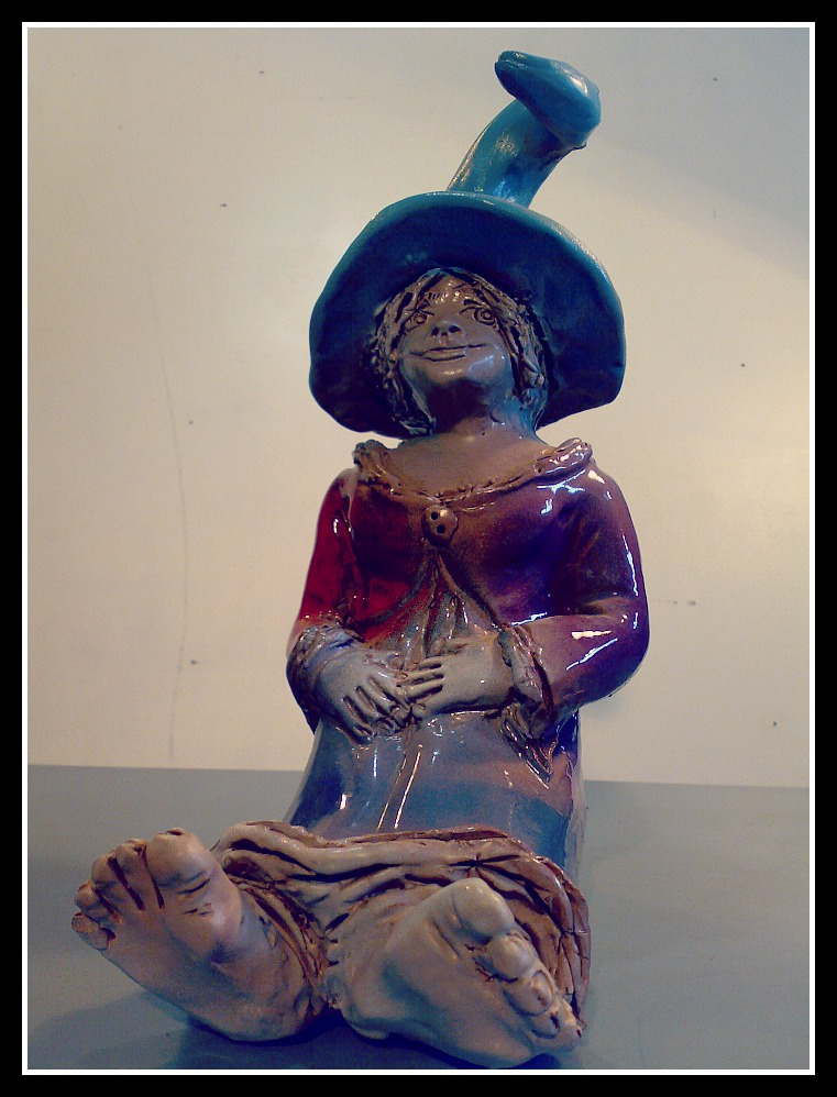 Mujer con sombrero