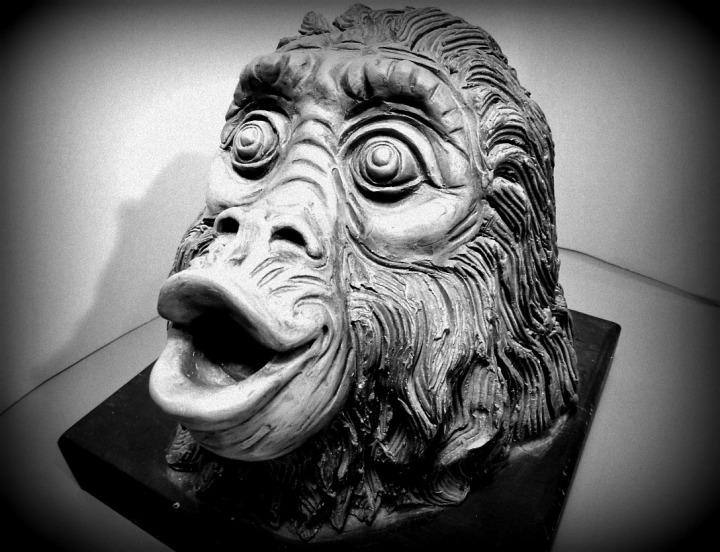 Cabeza de simio