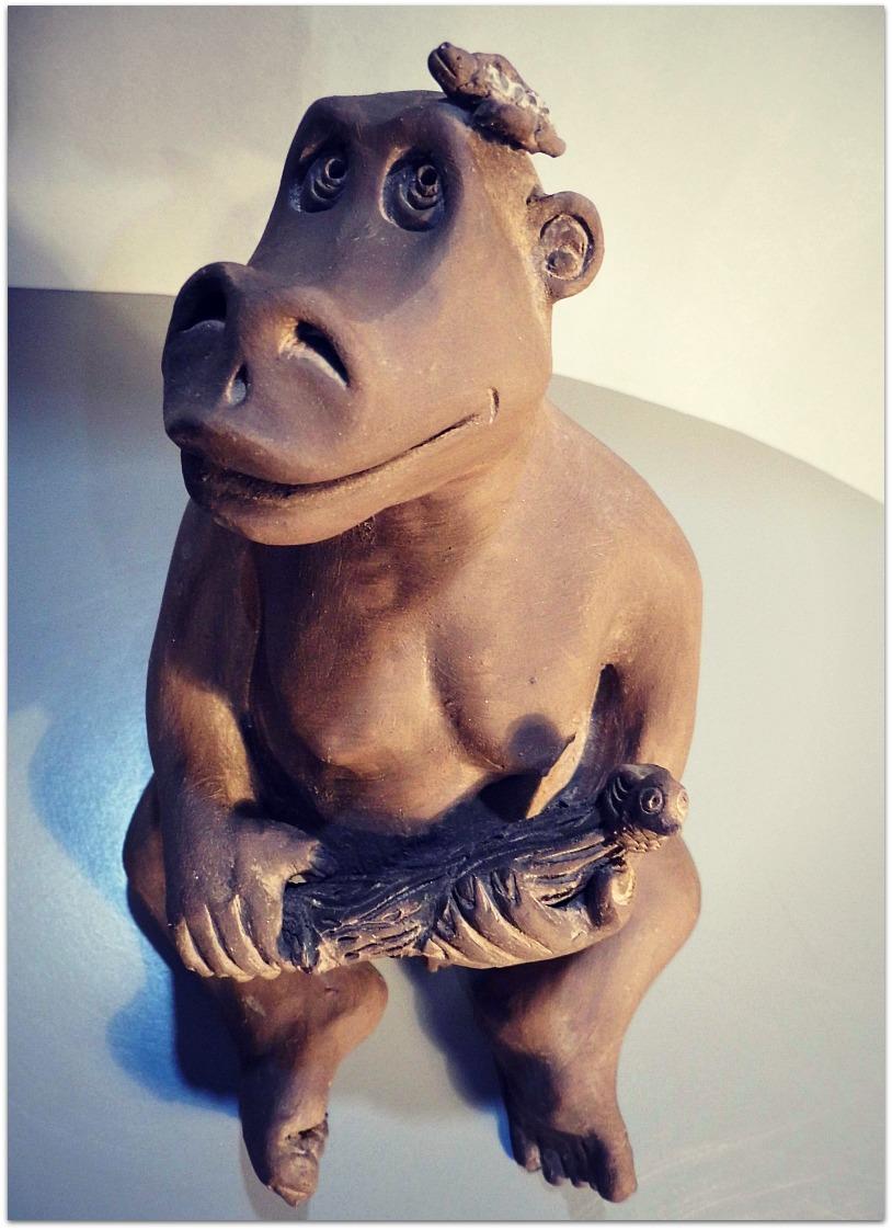 Joven simio
