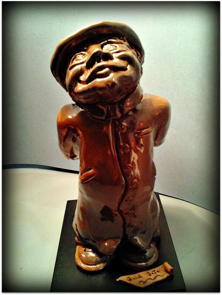 Pequeña escultura