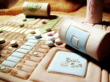 Parchís cerámica