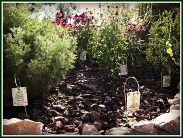 Señales en el jardín