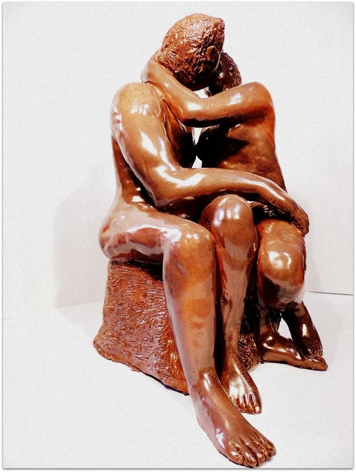 Escultura humana