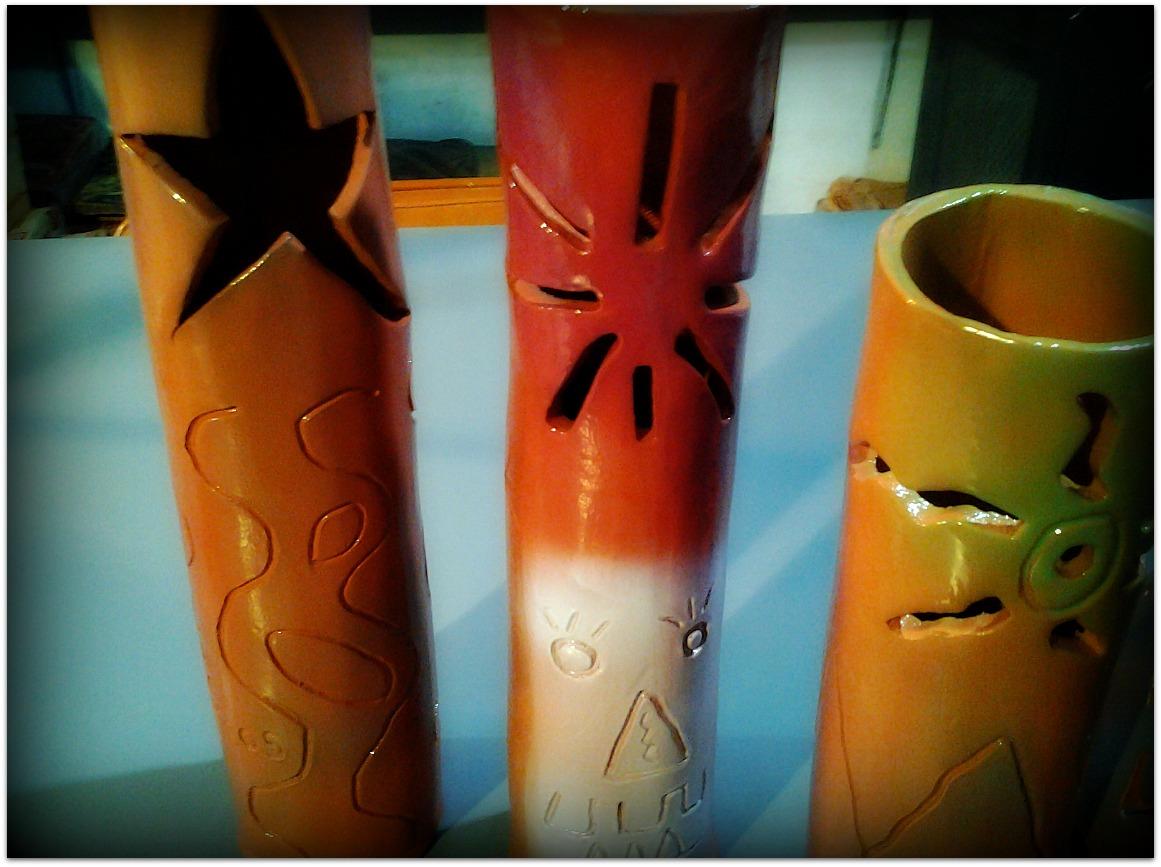 Jarrones de cerámica