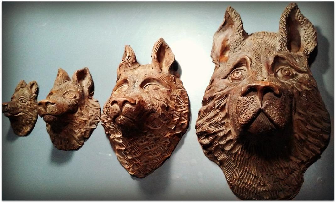 Máscaras de cerámica