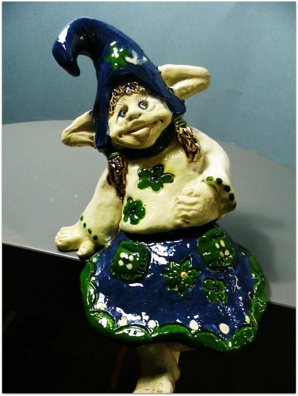 Duende de cerámica