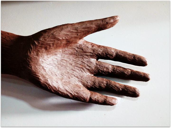 Brazo de cerámica